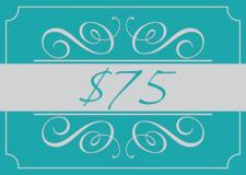 A Studio H Artist Group Gift Card for $75